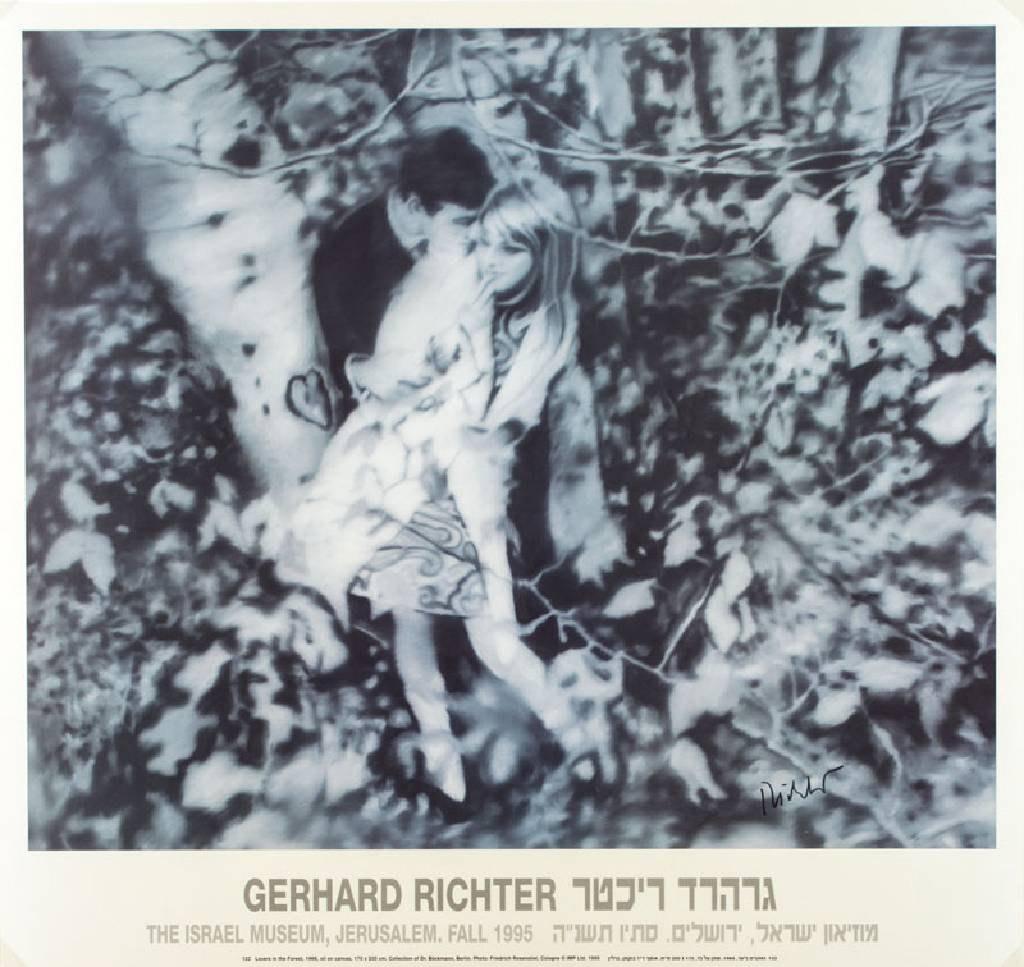 GERHARD RICHTER : OFFSET - HANDSIGNIERT - LOVERS IN THE FOREST - 72 ...